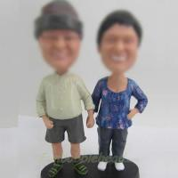 Dad and Mom bobble