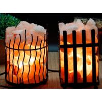Nature orange Himalaya Crystal Salt Rock Lamp BDSH