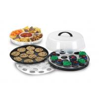 Buy cheap All In One Party Tray Snap On Lid Food Storage Serving from wholesalers