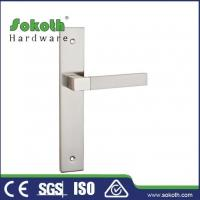 Buy cheap Zamac door handle on plate P03L171 from wholesalers