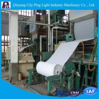 Buy cheap Manufacture of 1092mm Toilet Tissue Paper Production Line Made from Rice Straw/Reed from wholesalers