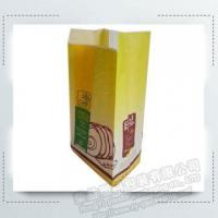 Buy cheap Kraft Bread Food Packing Paper Bags with Clear Window from wholesalers