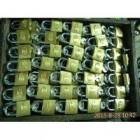 Buy cheap 32MM Golden Colour Iron Padlock from wholesalers