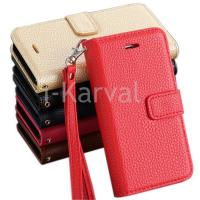 Buy cheap For Apple For iphone 5s leather case with lichee pattern from wholesalers
