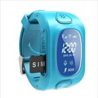 Buy cheap Kids gps watch with GPS/GSM/WIFI triple for anti-lost child smart watch from wholesalers
