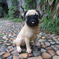 Buy cheap resin loyal cute pugs product