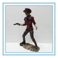 Buy cheap poly resin cow boy with gun product