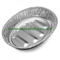 Buy cheap Aluminum Foil oval roasting pan from wholesalers