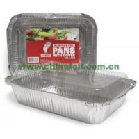 Buy cheap 2 1/4 lb. Rectangular Foil Pan with Clear Dome Lid from wholesalers