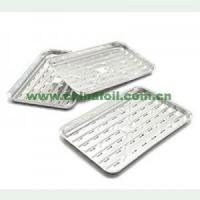 Buy cheap aluminum foil food barbeque grill tray from wholesalers