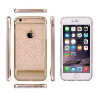 Buy cheap Microfiber PET Dual Layer Mobile Case Apple iPhone 6 Cases with Stand from wholesalers