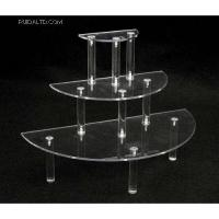 Buy cheap Acrylic Household Items Acrylic half round makeup display Product No.:RDP8812 from wholesalers