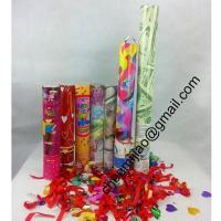 Buy cheap streamer party popper from wholesalers