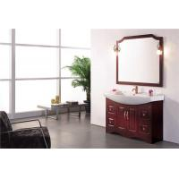Buy cheap New Fashion Red Bathroom Vanity Cabinet Q6639 product