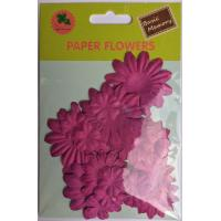 Buy cheap PFPP028Lipstick collection scrapbook paper flowers-paper petals-embellishments from wholesalers