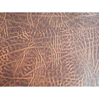 Buy cheap Ancient Style Two Tone Leather PVC Fabrics from wholesalers