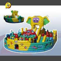 Buy cheap Giant Inflatables Giant Inflatables Elephant Playground from wholesalers