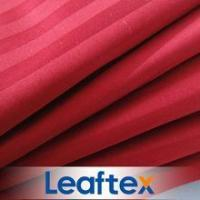 Buy cheap CVC Stripe Satin Bedding Fabric from wholesalers