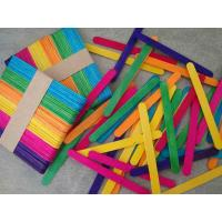Buy cheap Craft Stick Colorful Ice Cream Stick product