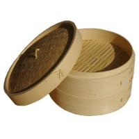 Buy cheap Bamboo Steamer Two Tier Bamboo Steamer from wholesalers