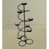 Buy cheap Wrought iron candle holders from wholesalers
