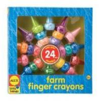 Buy cheap Arts & Crafts Alex Toys Little Hands Farm Finger Crayons product