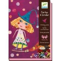 Buy cheap Arts & Crafts Djeco Stitching Cards - Witches product