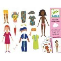 Buy cheap Arts & Crafts Djeco Paper Dolls- Costumes Of The World product