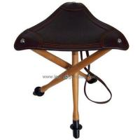 Buy cheap 3-legged Leather Fishing Stool MF016OALE from wholesalers