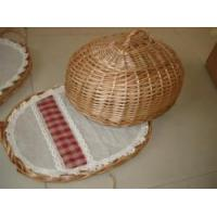 Buy cheap willow/wicker bread/cake basket from wholesalers