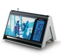 Buy cheap HC1600-004 Talking Alarm Clock W / Radio & Illuminated Picture Frame from wholesalers