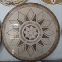 Buy cheap Medallion Water Jet Marble Inlays from wholesalers