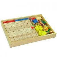 Buy cheap Classical Toy Wooden Greater Construction Set from wholesalers