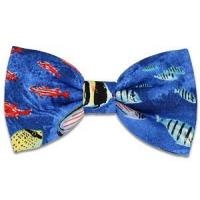 Buy cheap Fish Blue Bow Tie from wholesalers