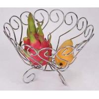 Buy cheap Fruit basket & holder Steel chrome plating fruit holder from wholesalers