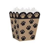 Buy cheap Paw Prints Kraft Sweet Treat Gift BoxCase Pack - 6 from wholesalers
