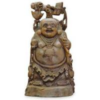 Buy cheap Antiques/Replicas Hand Crafted Vintage Cedar Wood Buddha from wholesalers