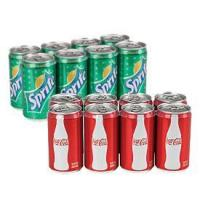 Buy cheap Coca-Cola Mini Cans, 8-Pack product