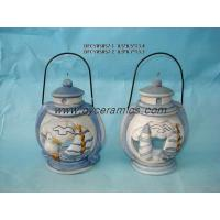 Buy cheap Handpainting itemsCeramic oil burner candle holder from wholesalers