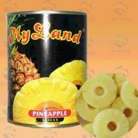 Canned pineapple in syrup( whole & slice)