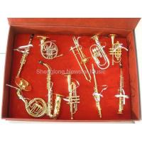 Buy cheap Miniature Musical Instruments Mini Wind Instrument Sets from wholesalers