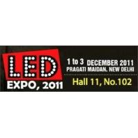 China GlacialLight exhibiting wide array of LED products at LED EXPO in New Delhi on sale