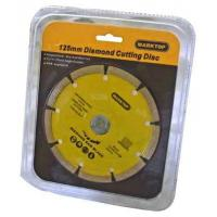 Buy cheap Power tool accessories 125MM DIAMOND CUTTING DISC from wholesalers