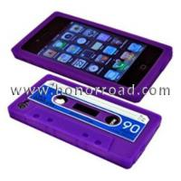 Buy cheap Purple/Blue Cassette Tape case for iphone4GS from wholesalers