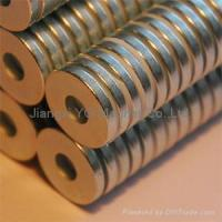 Buy cheap N30-N55 Neodymium iron boron NdFeb Rare Earth magnet from wholesalers
