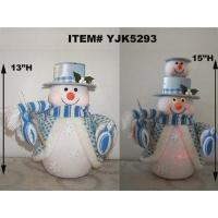 Buy cheap MUSICAL FIBER OPTIC SNOWMAN from wholesalers