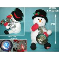 Buy cheap ANIMATED MUSICAL SNOWMAN PLAYING FRENCH HORN from wholesalers