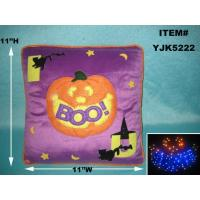 Buy cheap FIBER OPTIC HALLOWEEN PILLOW from wholesalers