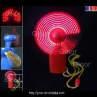Buy cheap mini led Message fan from wholesalers
