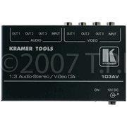 Buy cheap Kramer 103Av 1:3 Composite Video & Stereo Audio Distribution Amplifi from wholesalers